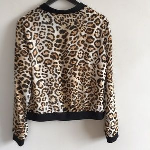 Forever 21 Contemporary Leopard Print Jacket